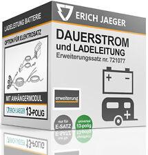 721077 OPTION DAUERSTROM und LADELEITUNG FÜR E-SATZ 13-POLIG UNIVERSELL