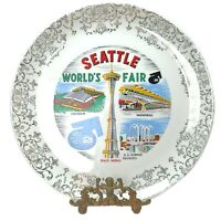 Vintage Seattle World's Fair 1962 Collector Plate Space Needle