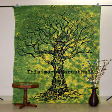 Indian Hippie Tapestry Tree Of Life Wall Hanging Bedspread Curtain Yoga Mat