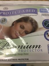 Protect a Bed Premium Mattress Protector 6' Super King 6ft Waterproof Protector