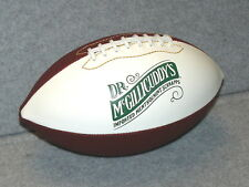 """New! DR. McGILLICUDDY'S """"Imported"""" MENTHOLMINT SCHNAPPS Football @ BAR Eye Candy"""