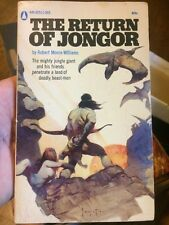 The Return Of Jongor By Robert Moore Williams Rare Collectible Paperback Fantasy