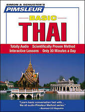 Pimsleur Thai Basic Course - Level 1 Lessons 1-10 CD: Learn to Speak and Underst
