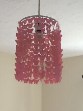 Dunelm Pink Butterfly Light Shade - Great Condition
