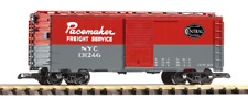 Piko 38818, G Scale, New York Central (NYC) Steel Boxcar - Pacemaker