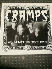 The Cramps – All Aboard The Drug Train LP Near Mint!!