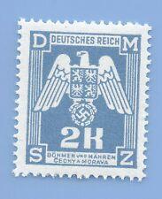 Nazi Germany Third Reich  B&M Swastika Eagle 2k stamp MNH WW2 ERA #84