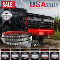 60-Inch Truck Strip Tailgate Light Bar 3Row Reverse Brake Signal Tail Lamp Strip