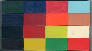 "Encaustic Art Wax - 16 ""Vivid"" Colours  -  brand new in box"