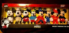 Disney Mickey Mouse Through The Years 8 Plush 90 Years 1928-2018 Ltd Edition