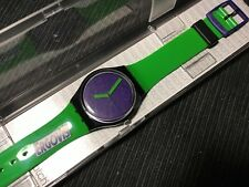 SWATCH GB267C - Green 'N Violet Ergovis 2012 GENT PUBBLICITARI - NEW IN BOX RARE