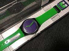 SWATCH GB267C - Green 'N Violet Ergovis 2012 GENT PUBBLICITARI - NEW IN BOX RARE