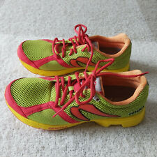 NEWTON Distance Running Athletic Shoes Mesh Neon Lime Green Men's Size 9.5