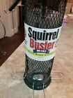 Squirrel Buster Mini Squirrel-proof Bird Feeder w/4 Metal Perches, 0.98-pound Se