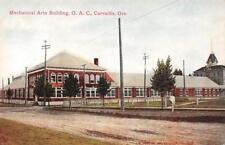 Mechanical Arts Building, O.A.C., Corvallis, Oregon ca 1910s Vintage Postcard