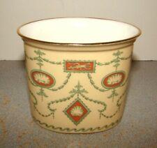 Halcyon Days Porcelain Oval Candle Holder