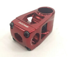 "Box Hollow BMX Stem 1-1/8"" 53mm, 22.2, Anodized Red"