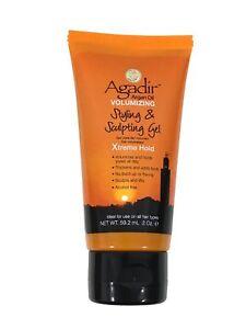Agadir Argan Oil Volumizing Styling & Sculpting Xtreme Hold Gel 2 oz