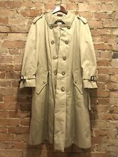 VTG Baracuta Gabardine Removable Wool Liner Double Breast Trench Coat England 38