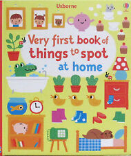 Usborne My Very First Book of Things to Spot At Home (hc) Word Book NEW