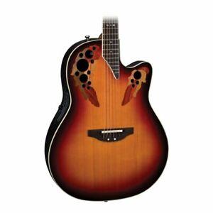 Ovation Timeless  Elite - New England Burst Acoustic / Electric Guitar
