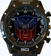 Transformers Logo Head New Gt Series Sports Unisex Gift Watch