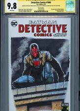 RED HOOD Sketch cover art by BRENT PEEPLES CGC SS 9.8 DC Comics Batman