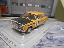FIAT POLSKI 125P 125 P Rallye 1972 #41 Rajdowy IXO Altaya Atlas 1:43