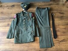 Vietnam Era 82nd Airborne Officer Uniform w/ Patches Insignia Sterling Pin
