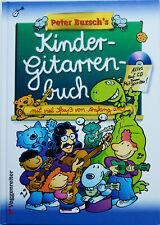 Kinder-Gitarrenbuch / Peter Bursch / Voggenreiter +CD, neuwertig