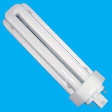 2x 18W (=100W) Low Energy GX24D-2 2 pin Stick 4000K Cool White CFL Light Bulb