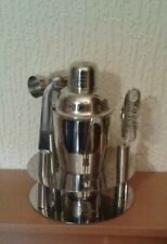 STAINLESS STEEL COCKTAIL SHAKER 7 BAR  PIECE SET ***NEW & BOXED***