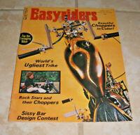 JUNE 1971 Easyriders Magazine Issue #1 REPRINT OF THE ORIGINAL Three Staples VGC