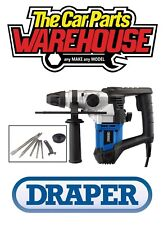 DRAPER 20995 900W SDS HAMMER DRILL 230V WITH DRILL AND CHISEL SET KIT