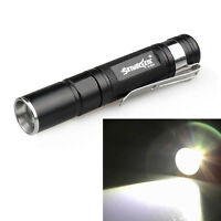 Waterproof 2000LM Pocket LED Flashlight  Zoomable LED Torch Mini Penlight