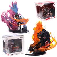 Anime Naruto Uchiha Sasuke+Uchiha Itachi Action Figure Collection Kid's Gift Toy
