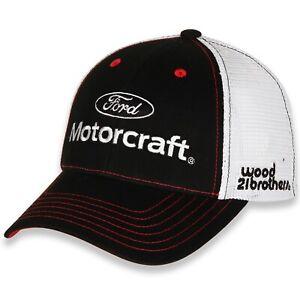 Matt DiBenedetto #21 Ford Motorcraft 2021 Sponsor Mesh Trucker Nascar Hat / Cap