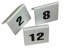 PLASTIC TABLE NUMBERS SET 11 TO 20 Restaurant cafe