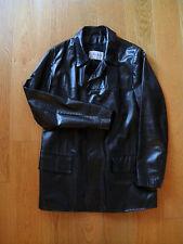 Giacca Marled giubbotto uomo capospalla pelle bottoni black leather jacket mens