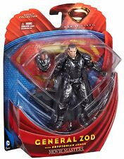 DC Superman Man of Steel Movie Masters General Zod with KRYTONIAN ARMOR