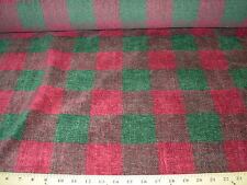"~7 YDS~BRUNSCHWIG FILS~CHENILLE ""AFGHAN PLAID"" UPHOLSTERY FABRIC FOR LESS~"