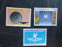 1994 LUXEMBOURG 40th WESTERN EUROPEAN UNION SET 3 MINT STAMPS MNH