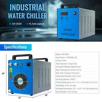 Preenex Water Chiller CW-3000 for 50-100W CO2 Laser Tubes and Lab Equipment