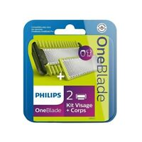 Philips Oneblade 2 Replacement blades with Body Kit QP620 One Blade