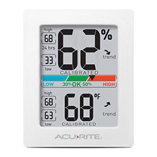 AcuRite Monitor for Greenhouse, Home or Office3 x 2.5 Inches Room Thermometer