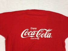 Vtg Coca Cola T Shirt Screen Stars Red Large