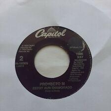 Proyecto M El Blanco Es La Pasion / Estoy Aun Enamorado CAPITOL VG 45RPM #2104