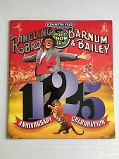 Ringling Bros Brothers Barnum & Bailey 125th Anniversary Celebration Circus Prog
