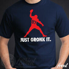 GRONK SPIKE T-Shirt Gronkowski New England Football Fan Patriots Jersey Funny