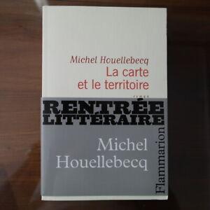 Michel Houellebecq - La carte et le territoire  - Flammarion 2010